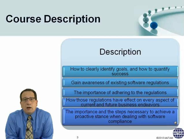 certified software asset manager csam it asset management training