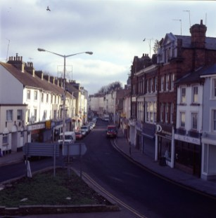 Tontine Street Folkestone Prior to Regenoration