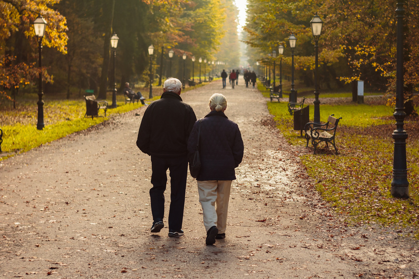 Walking in the mornings is a healthy way to kick off your daily routine.