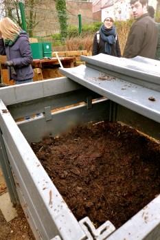 Compost de quartier à Jette