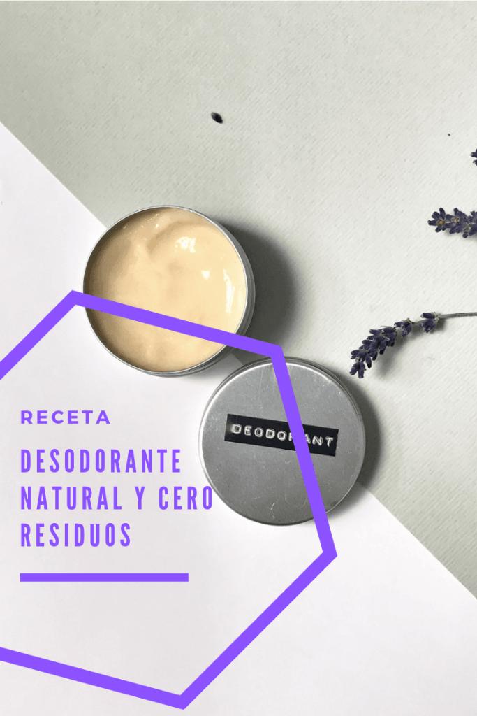 pin de la receta de desodorante natural y sin residuos del blog go green madrid