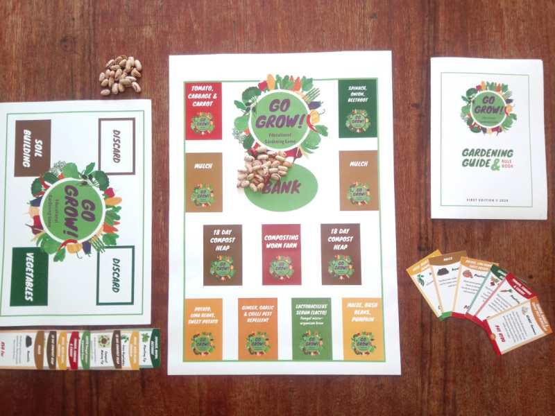 First Edition of GoGrow! Educational Board Game released