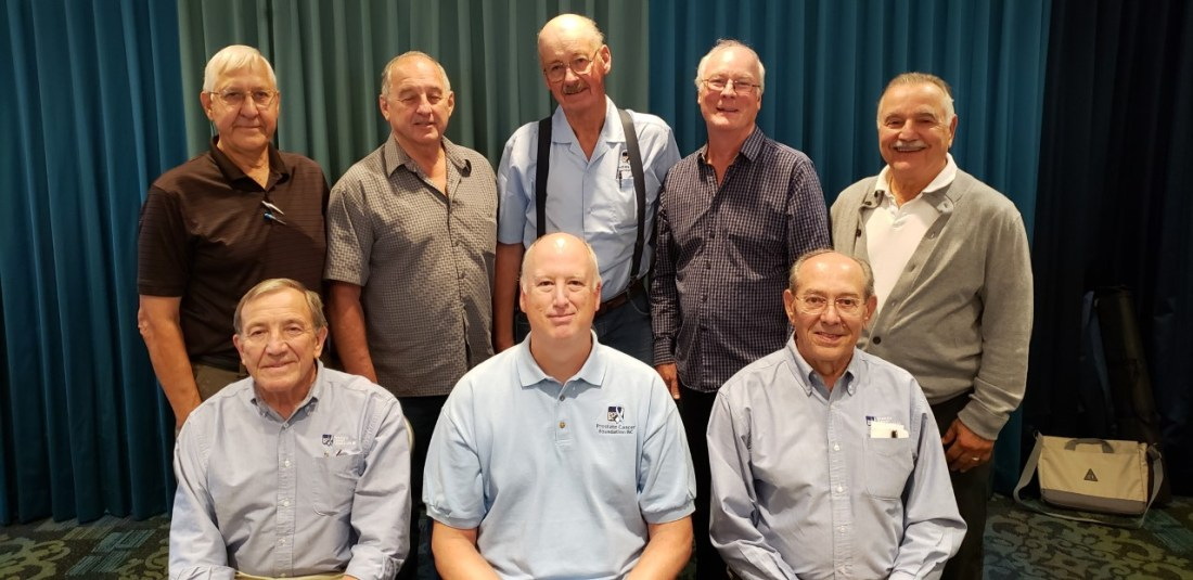 Prostate Cancer Foundation BC Support Group Council, bc, canada, executive
