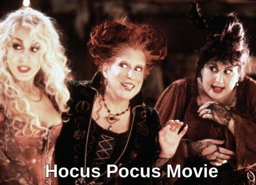Hocus Pocus - Halloween Movie- sarah jessica parker hocus pocus- good halloween movies