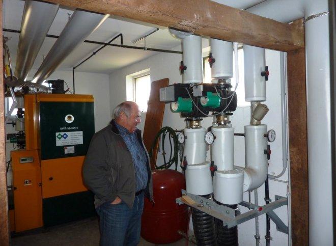 Aloys Schneider in vor Heiztechnik