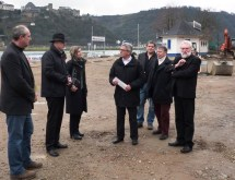 Innenminister Roger Lewenz übergibt Förderzusage für Bauprojekt Rheinvorgelände