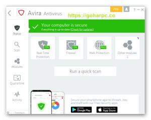 Avira Antivirus Pro 2020 v15.0.2006.1895 Crack Serial Key Download