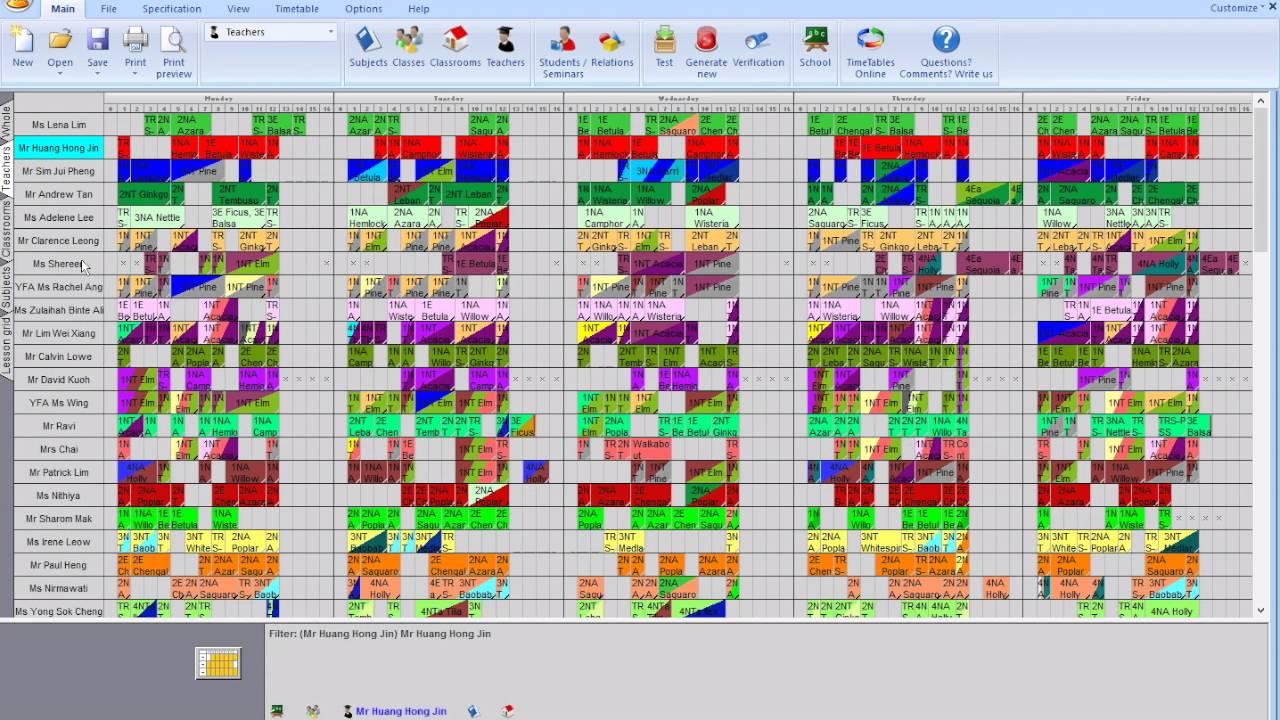 aSc Timetables