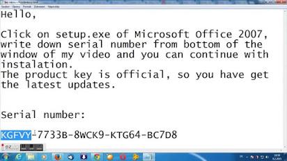 Microsoft Office Professional 2007 Product Key Latest Free Download Mac/Windows