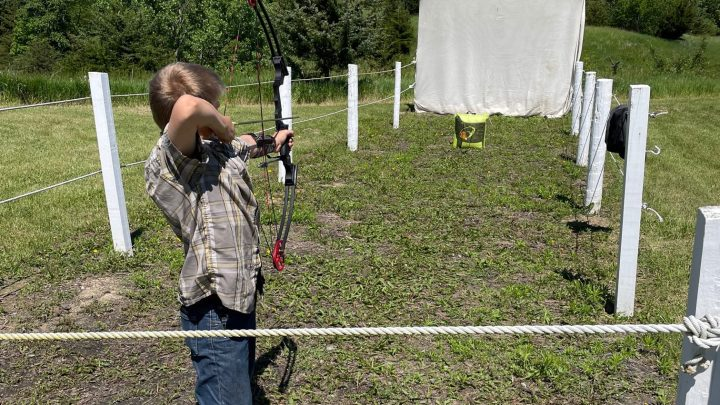 Camp Big Sky receives archery grant