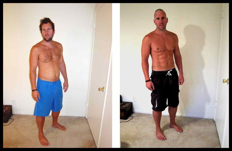 Before and After Weight Loss Men Pictures