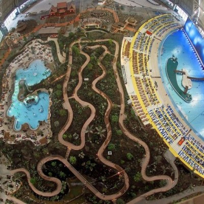 Peek Inside The Largest Indoor Pool In The World!