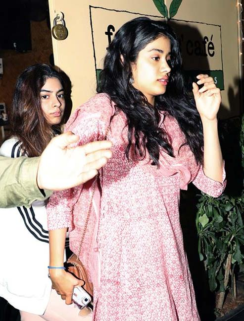 Sridevi's Daughters