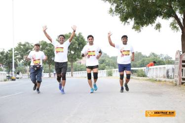 Jubiliant runners from Ahmedabad