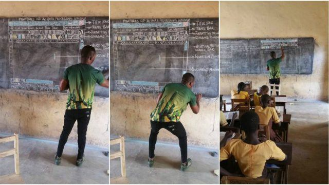 Microsoft Extends Support To Ghana Teacher Who Taught Computers On Blackboard