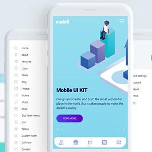 MOBILI – HTML MOBILE TEMPLATE