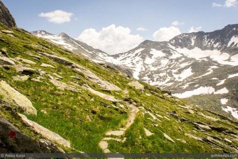 Trail to Heilig-Geist-Jöchl