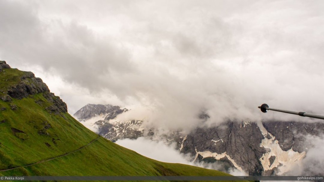 Marmolada in the Clouds
