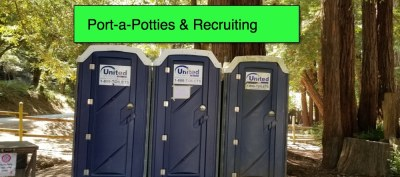 Port-a-Potty Recruiting - What's behind Door #2 will shock you!