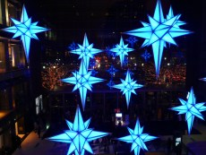 Time Warner Center Holiday Light Show