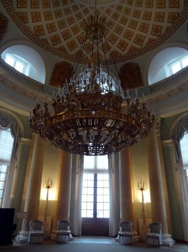 Arkhangelskoye - the ballroom at Yusupov Palace