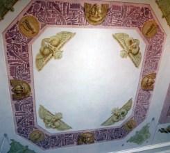 Arkhangelskoye - Egyptian ceiling at Yusupov Palace