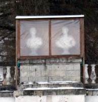 Archangelskoye - covered sculptures