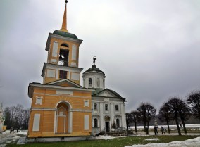 Kuskovo Church and Bell Tower, Russian Baroque