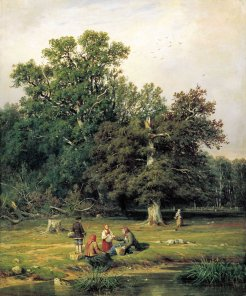 July: Mushroom-hunting, by Ivan Shishkin