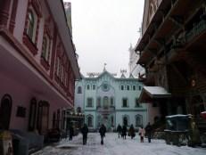 Brightly colored buildings of the Izmailovo Kremlin