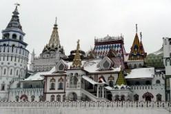 The many towers of the Izmailovo Kremlin