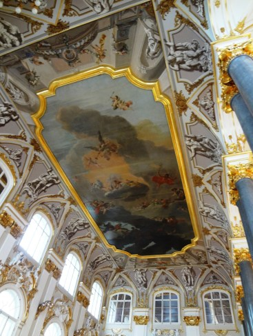 Ceiling fresco of the main hall, Winter Palace