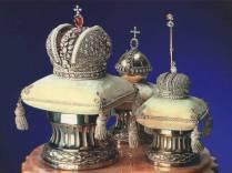 Russian Imperial regalia - Faberge miniatures