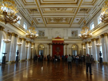 Throne room, Winter Palace