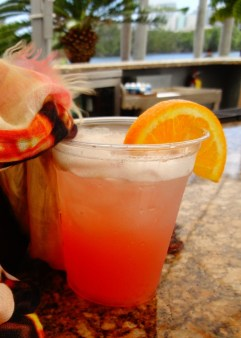 Sex on the Beach with a twist, namely a splash of sour mix and grapefruit.