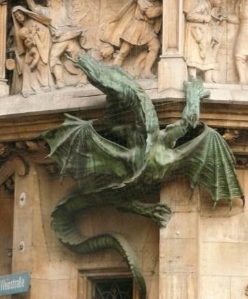 Munich dragon