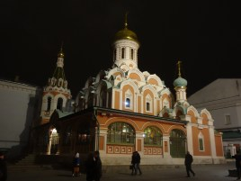 Kazan Cathedral off of the Red Square
