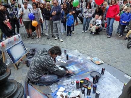 Brussels street artist