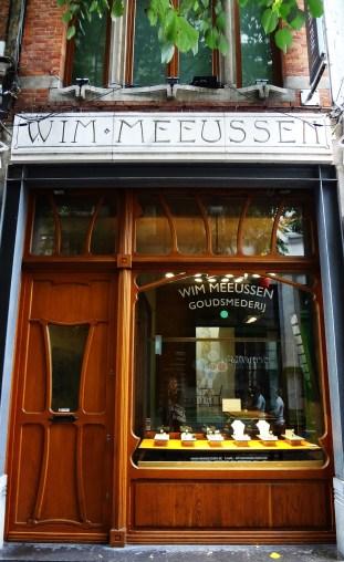 Diamond shop in Antwerp