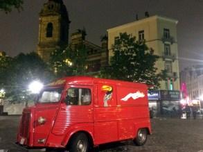 Place Saint Catherine at Night