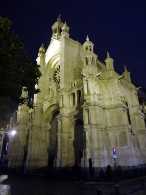 Saint Catherine cathedral in Brussels
