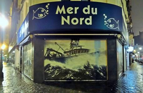 Seafood meets Street Art in Brussels
