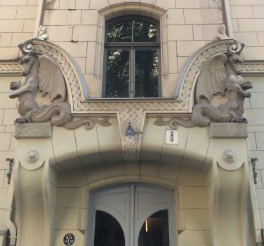 Riga Art Nouveau Detail 5