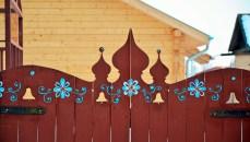 Suzdal wood architecture zodchestvo Gate