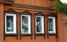 Suzdal wood architecture zodchestvo window 6