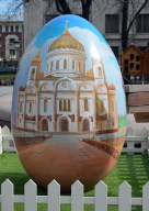 Cathedral of Christ the Savior Easter Egg
