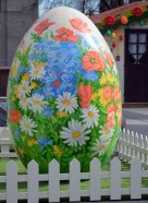 Garden Flowers Easter Egg