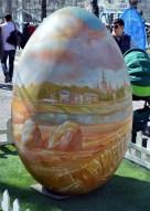 Country Landscape Easter Egg