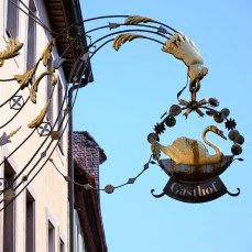 Rothenburg shop sign 18