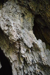 Travertine inside the cave